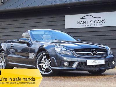 used Mercedes SL63 AMG SL 6.2AMG 2d AUTO 525 BHP £5K OF UPGRADES - PAN ROOF