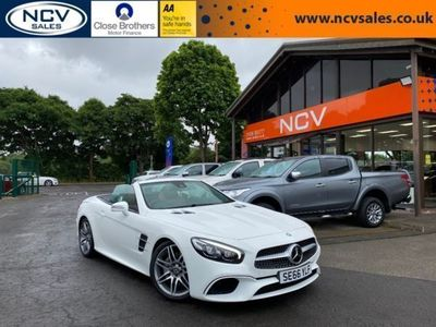 used Mercedes SL500 SL Class 4.7V8 AMG Line Roadster G-Tronic+ (s/s) 2dr
