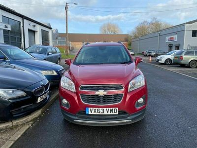 used Chevrolet Trax 1.7 VCDi LT 4X4 (s/s) 5dr
