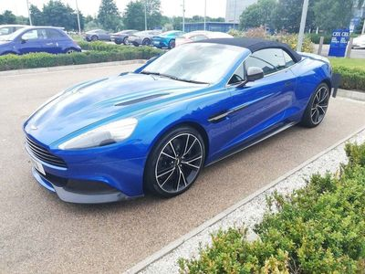 used Aston Martin Vanquish Volante 2+2 Touchtronic 2 6.0 2dr