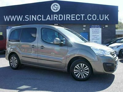 used Peugeot Partner 1.6 BLUE HDI TEPEE ACTIVE 5dr