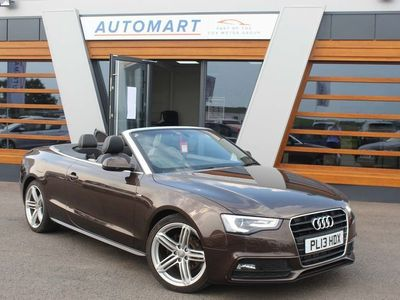 used Audi A5 Cabriolet Cabriolet 2.0 TDI S line Special Edition Multitronic 2dr