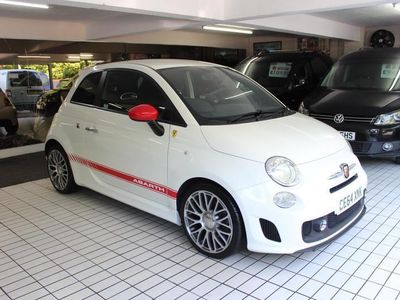 used Abarth 500 1.4 16V T-Jet 3dr,ONLY 25,000 MILES,2 OWNERS,IMMACULATE,HPI CLEAR