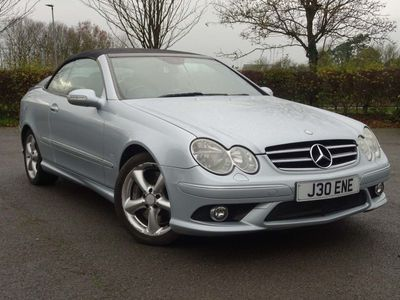used Mercedes CLK350 CLK 3.5Sport Cabriolet 7G-Tronic 2dr