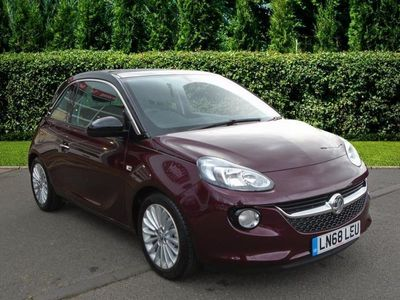 used Vauxhall Adam 1.4i (87 PS) Glam 3dr Hatch [Panoramic Roof] Hatchback 2018
