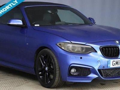 used BMW 220 2 SERIES 2.0L 220I M SPORT 2d AUTO 181 BHP ABSOLUTELY STUNNING i!