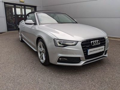 used Audi A5 Cabriolet 2.0T FSI Quattro S Line Special Ed 2dr S Tronic