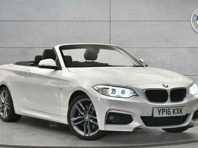 used BMW 228 i M Sport Convertible