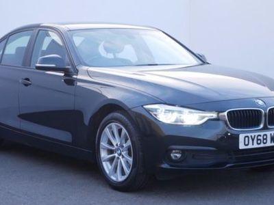 used BMW 316 3 SERIES d SE 4dr Black Manual Diesel