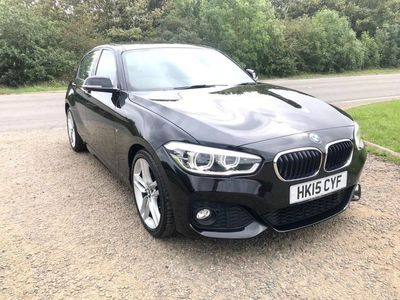 used BMW 118 1 SERIES 1.6 I M SPORT 5d AUTO 134 BHP F/S/H-SAT NAV-LEATHER-LOW MILLEAGE