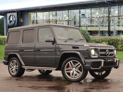 used Mercedes G63 AMG G Class AMG4MATIC 5.5 5dr