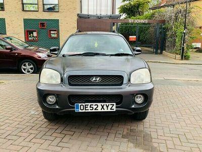 used Hyundai Santa Fe 2.4 5dr Ideal petrol van ,ulez compli