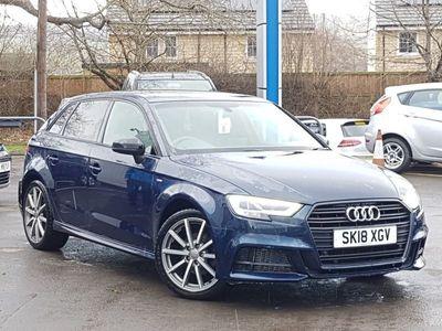 used Audi A3 1.0 Tfsi Black Edition 5Dr