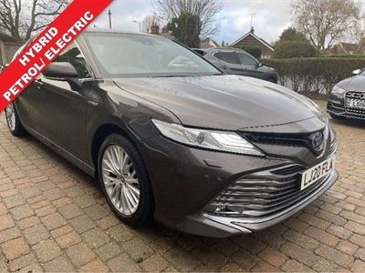 used Toyota Camry 2.5 VVT-I EXCEL 4d 215 BHP BLACK HEATED LEATHER