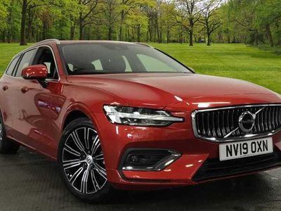 used Volvo V60 D3 2.0 Inscription Manual (Leather Upholstery, Satellite Navigation, Heated Windscreen, Heated Seats)