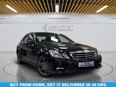 used Mercedes E220 E-Class 2.1CDI BLUEEFFICIENCY SPORT 4d AUTO 170 BHP | OVER 50 MERCEDES' IN STOCK