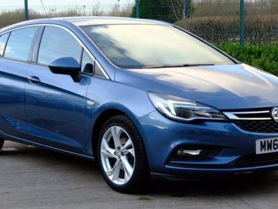 used Vauxhall Astra 1.4T 16V 150 SRi 5dr Blue Manual Petrol