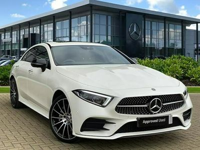 used Mercedes CLS400 CLS DIESEL COUPE4Matic AMG Line Ngt Ed Pr + 4dr 9G-Tronic