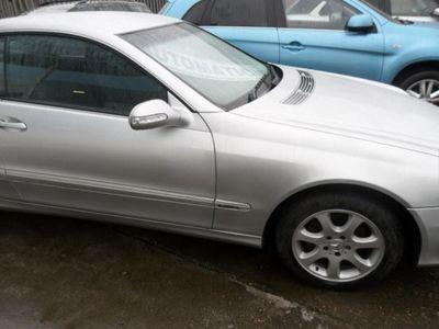used Mercedes CLK200 Elegance 2dr Auto