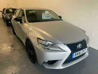 used Lexus IS300h Sport 4dr CVT Auto UNPARALLELED CONDITION