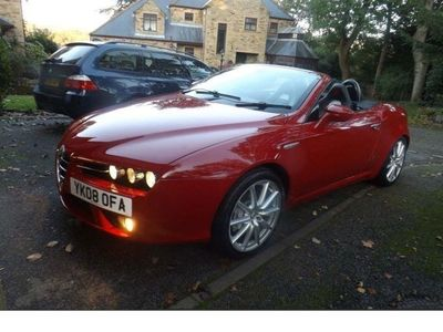 used Alfa Romeo Spider Spider2.2 JTS Limited Edition 2dr1 LADY OWNER CAR FULL HISTORY Convertible 2008
