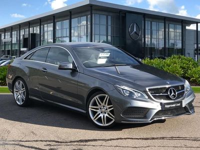 used Mercedes E220 E CLASS DIESEL COUPEAMG Line Edition 2dr 7G-Tronic