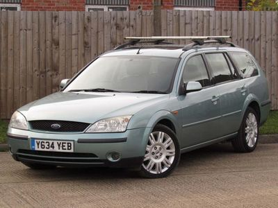 used Ford Mondeo 2.0 Ghia X 5dr