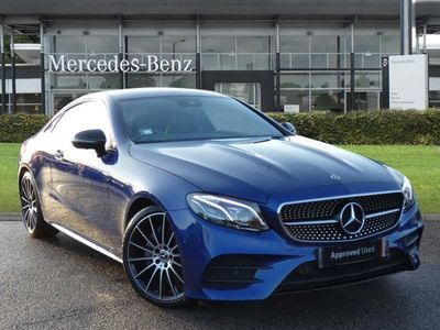 used Mercedes E220 E CLASSAMG Line 2dr 9G-Tronic Automatic diesel coupe