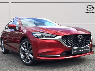 used Mazda 6 2.0 Sport Nav+ 5dr [Safety Pack]