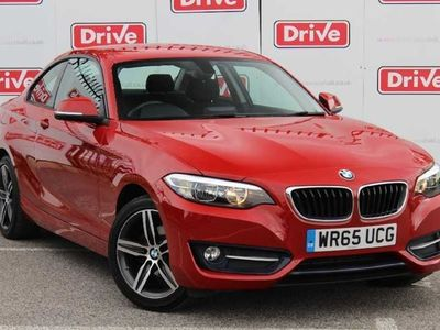 used BMW 218 2 Series i Sport 2dr Coupe Manual