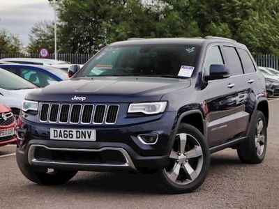 used Jeep Grand Cherokee 3.0 CRD Limited Plus 5dr Auto [Start Stop]
