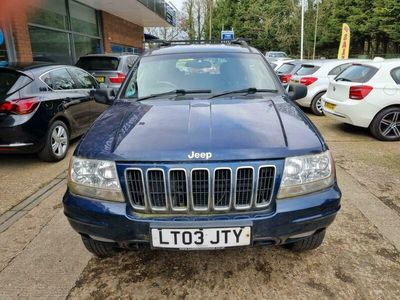 used Jeep Grand Cherokee 4.7 V8 Limited 4x4 5dr