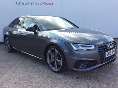used Audi A4 Black Edition 40 TDI 190 PS S tronic 2.0 4dr