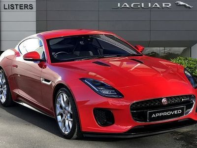 used Jaguar F-Type 2.0 R-Dynamic 2dr Auto Coupe 2018