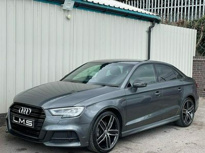 used Audi A3 Saloon S Line 1.5 TFSI 150PS 4d