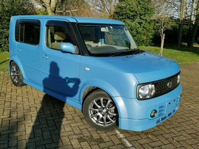 used Nissan Cube 1.5i 7 Seater Authentic low mileage 46k miles ULEZ
