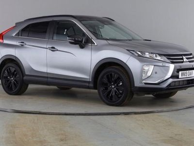 used Mitsubishi Eclipse Cross 1.5T Black SUV 5dr Petrol CVT 4WD (s/s) (163 ps) hatchback special editions