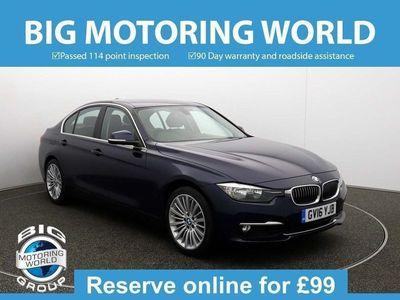 used BMW 330 3 Series I LUXURY for sale | Big Motoring World
