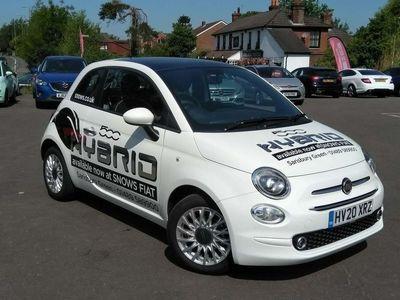 used Fiat 500 1.0 Mild Hybrid Lounge 3Dr