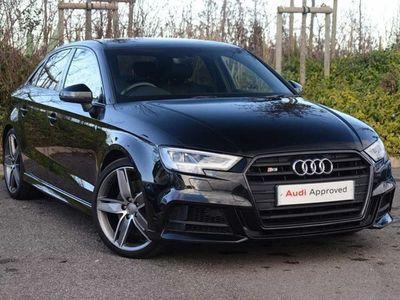 used Audi A3 S3 Tfsi Quattro Black Edition 4Dr