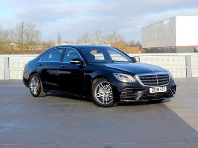 used Mercedes S500L S-ClassAmg Line Executive/Prem Plus 4Dr 9G-Tronic