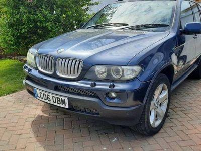 used BMW X5 PETROL AUTOMATIC ESTATE 5 DOORS