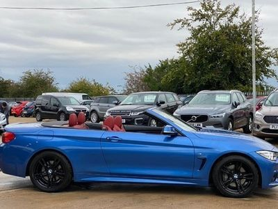 used BMW 440 4-Series Convertible i M Sport (Professional Media) 2d Auto