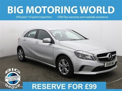 used Mercedes A160 A ClassSE EXECUTIVE for sale | Big Motoring World