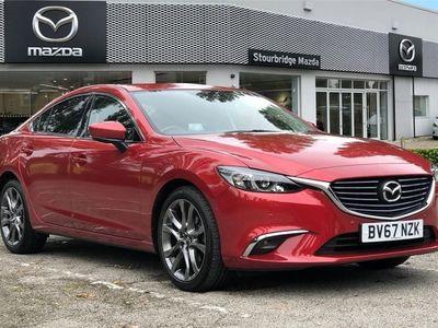 used Mazda 6 2.0 4dr Sport Nav (165ps) (Blk Lthr)