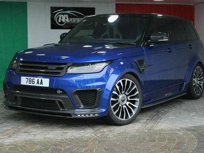 used Land Rover Range Rover Sport 5.0 V8 SVR 4X4 (s/s) 5dr