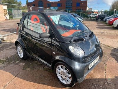 used Smart ForTwo Cabrio 0.6 City Passion 2dr