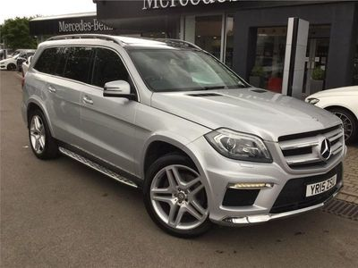 used Mercedes GL350 GL-ClassBluetec Amg Sport 5Dr Tip Auto
