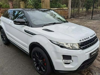 used Land Rover Range Rover evoque Coupe 2.0 Si4 Dynamic Coupe 3d Auto