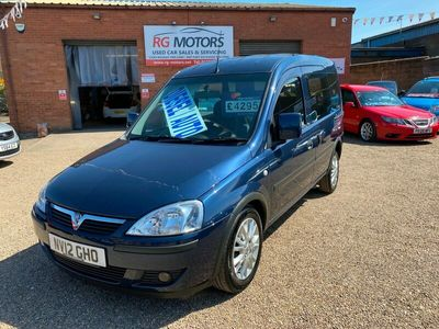 used Vauxhall Combo Tour 1.3 CDTi 16V 5dr Easytronic 50k MILES, AUTO, W/CHAIR ADAPTED, RAMP, STRAPS,